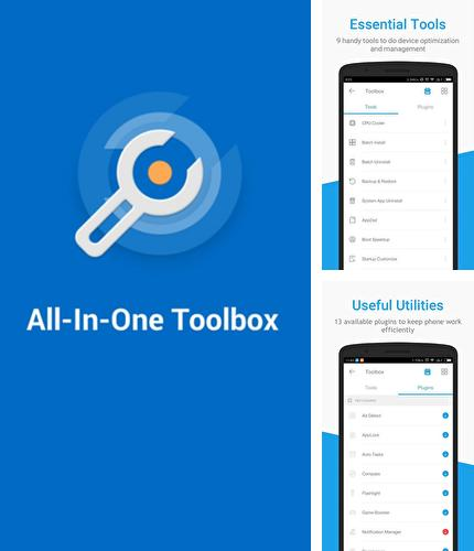 Besides Total Launcher Android program you can download Toolbox: All In One for Android phone or tablet for free.