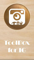Download ToolBox for IG - Saver, full DP viewer, no crop for Android - best program for phone and tablet.
