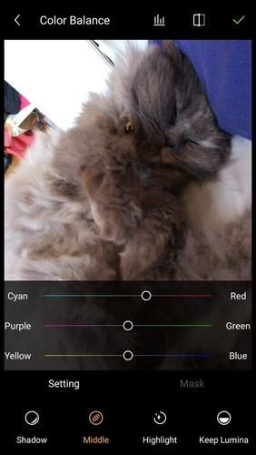 Screenshots of Gallery - Photo album & Image editor program for Android phone or tablet.