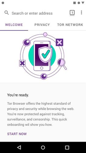 Tor browser for Android app for Android, download programs for phones and tablets for free.