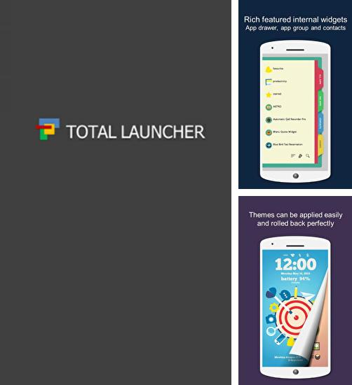 Besides TripIt: Travel organizer Android program you can download Total Launcher for Android phone or tablet for free.