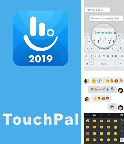 Besides Wallp - Stock HD Wallpapers Android program you can download TouchPal keyboard - Cute emoji, theme, sticker and GIFs for Android phone or tablet for free.