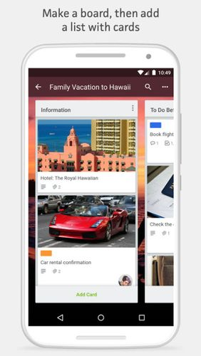 Trello app for Android, download programs for phones and tablets for free.