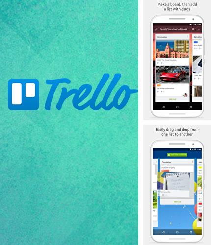 Besides Cool sticky notes Android program you can download Trello for Android phone or tablet for free.