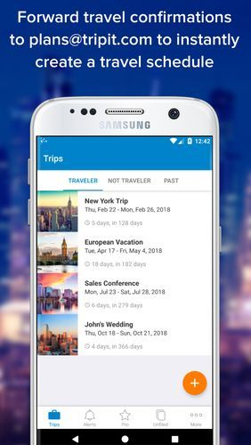 Download TripIt: Travel organizer for Android for free. Apps for phones and tablets.