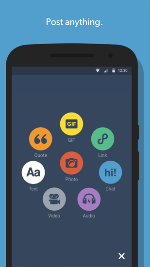 Tumblr app for Android, download programs for phones and tablets for free.