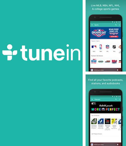 Download TuneIn: Radio for Android phones and tablets.