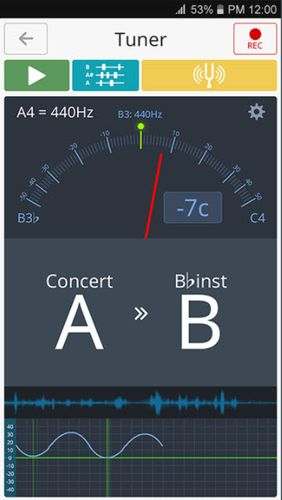 Download Tuner and metronome for Android for free. Apps for phones and tablets.