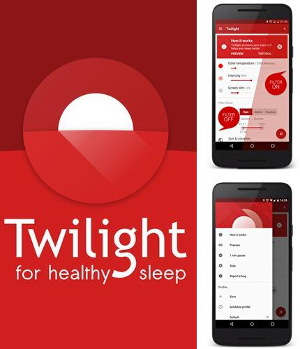 Besides Intelli ring Android program you can download Twilight for Android phone or tablet for free.