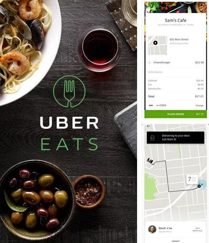 Besides Daily yoga Android program you can download Uber eats: Local food delivery for Android phone or tablet for free.