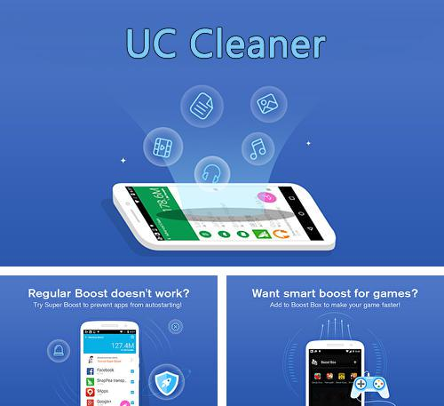 Besides LOCKit - App lock, photos vault, fingerprint lock Android program you can download UC cleaner for Android phone or tablet for free.