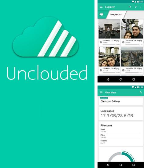 Besides MacroDroid Android program you can download Unclouded: Cloud Manager for Android phone or tablet for free.