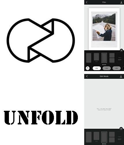 Descargar gratis Unfold - Create stories para Android. Apps para teléfonos y tabletas.