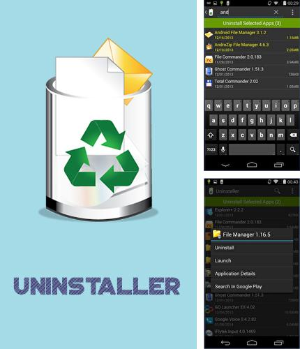 Besides Taskful: The smart to-do list Android program you can download Uninstaller for Android phone or tablet for free.