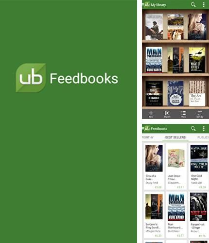 Besides Super Manager Android program you can download Universal Book Reader for Android phone or tablet for free.
