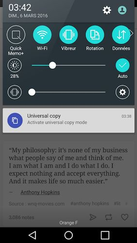 Download Universal copy for Android for free. Apps for phones and tablets.