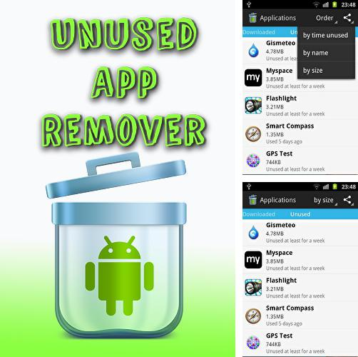 Besides Mp3 cutter Android program you can download Unused app remover for Android phone or tablet for free.