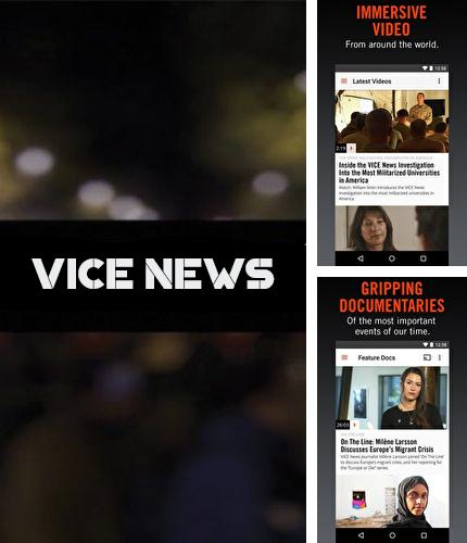 Besides Repost for Instagram Android program you can download VICE news for Android phone or tablet for free.