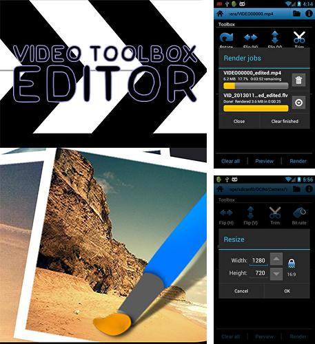 Download Video toolbox editor for Android phones and tablets.