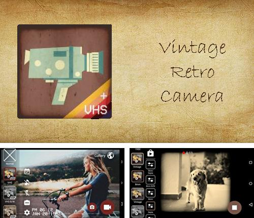 Besides Kinopoisk Android program you can download Vintage retro camera + VHS for Android phone or tablet for free.