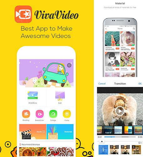 Besides Swipe for reddit Android program you can download Viva video for Android phone or tablet for free.