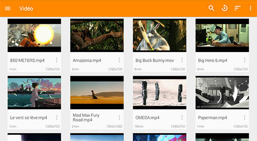 VLC media player app for Android, download programs for phones and tablets for free.