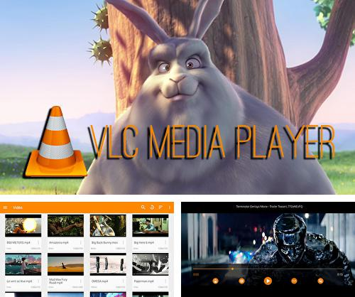 Besides Flashlight Android program you can download VLC media player for Android phone or tablet for free.