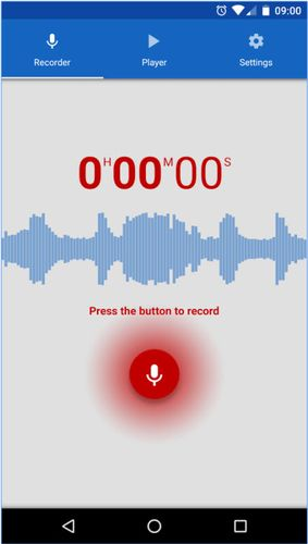 Download Voice recorder for Android for free. Apps for phones and tablets.