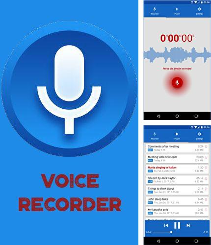 Besides Sticky notes Android program you can download Voice recorder for Android phone or tablet for free.