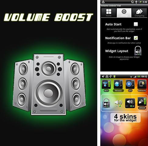 Besides Catch notes Android program you can download Volume boost for Android phone or tablet for free.