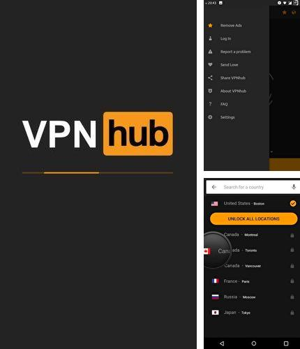 Además del programa Drawers para Android, podrá descargar VPNhub - Secure, private, fast & unlimited VPN para teléfono o tableta Android.