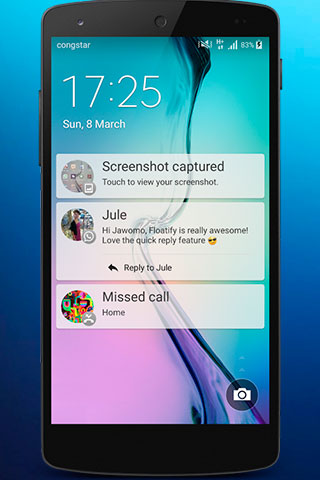 Floatify - Smart Notifications app for Android, download programs for phones and tablets for free.