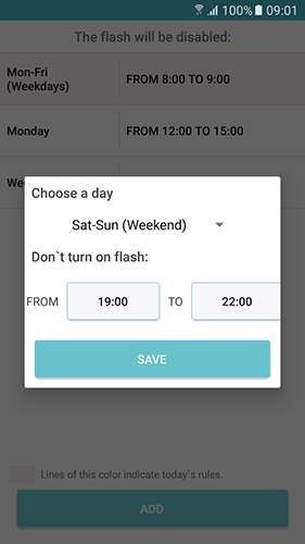 Flash on call app for Android, download programs for phones and tablets for free.