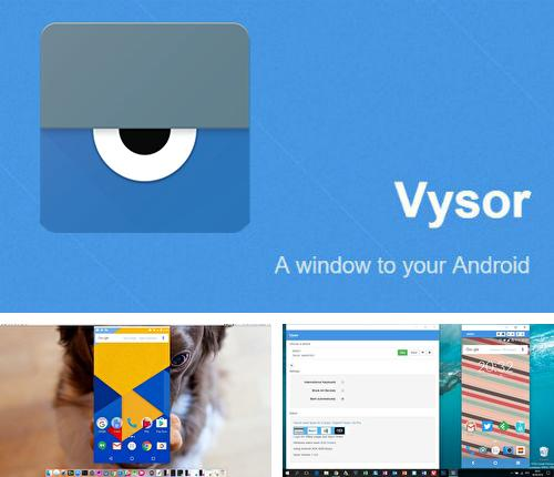 Besides HabitBull Android program you can download Vysor - Android control on PC for Android phone or tablet for free.