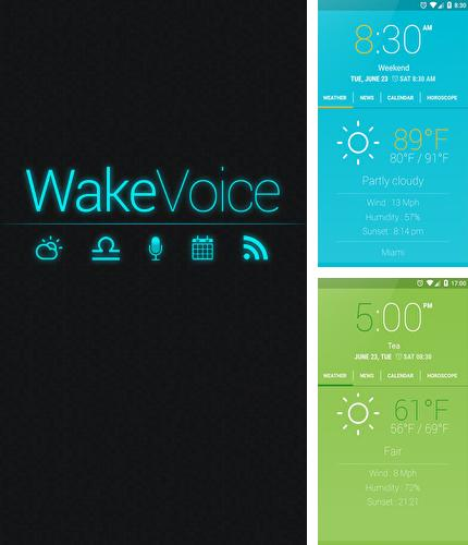 Download WakeVoice: Vocal Alarm Clock for Android phones and tablets.