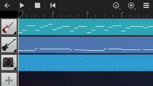 Screenshots of Walk band - Multitracks music program for Android phone or tablet.