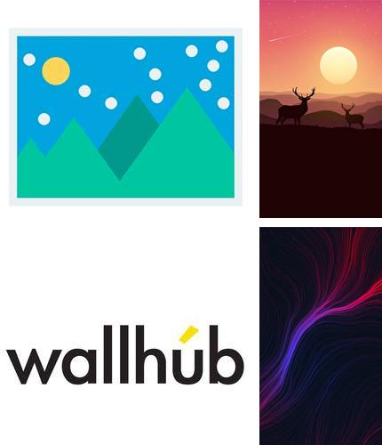 Besides Google Android program you can download WallHub - Free wallpaper for Android phone or tablet for free.