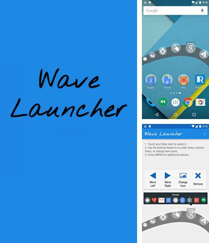 Besides AR Ruler app – Tape measure & Camera to plan Android program you can download Wave: Launcher for Android phone or tablet for free.