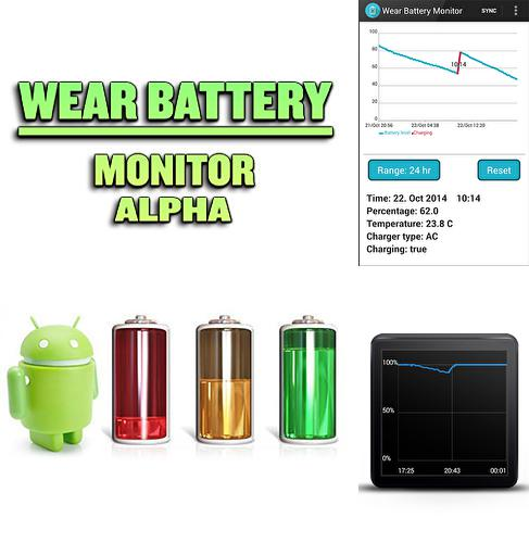 Besides Game Screen: Recorder Android program you can download Wear battery monitor alpha for Android phone or tablet for free.