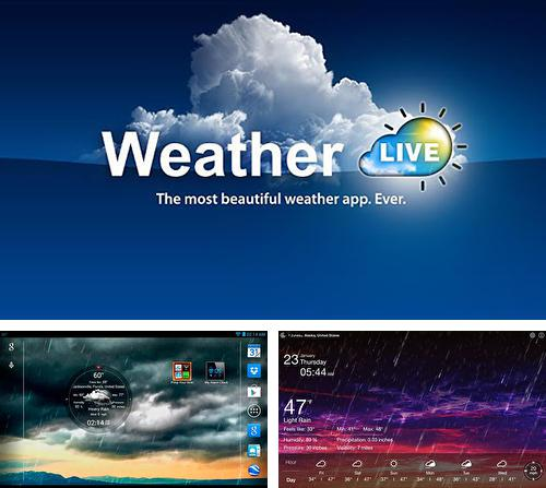 Download Weather live for Android phones and tablets.