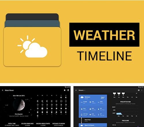 Download Weather timeline for Android phones and tablets.