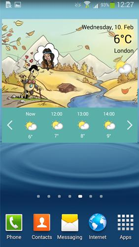 Download Weather by Miki Muster for Android for free. Apps for phones and tablets.