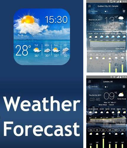 Además del programa SoundSeeder para Android, podrá descargar Weather Forecast by smart-pro para teléfono o tableta Android.