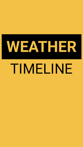 Weather Timeline: Forecast