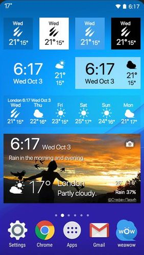 Weawow: Weather & Widget