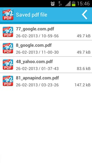 Website To PDF app for Android, download programs for phones and tablets for free.