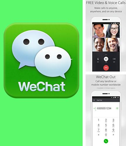 Besides Pocket Android program you can download WeChat for Android phone or tablet for free.