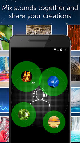 White Noise app for Android, download programs for phones and tablets for free.