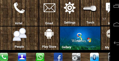 Додаток Windows 8+ launcher для Android.