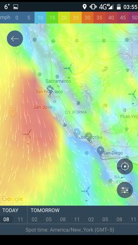 WINDY: Wind forecast & marine weather